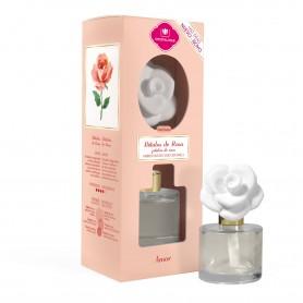 Flor Cerámica 45ml Pétalos de Rosa